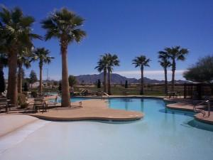 Solera Chandler, AZ heated resort pool